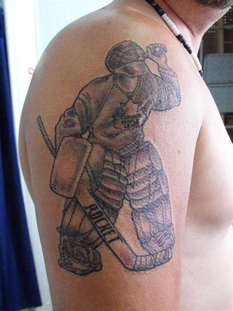 athletic tattoos designs awesome sports on shoulder