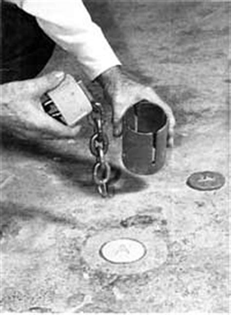 Expander Chain installation and removal for floor anchor pot