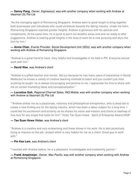 Brand Strategist Sle Resume by Resume Of Andrew Chow The Brand Strategist