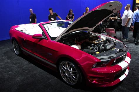 ford mustang pony table l look sema pony mustang