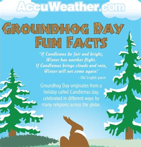 groundhog day trivia groundhog day facts infographic