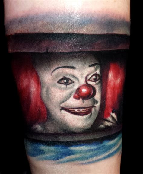 pennywise tattoo 29 pennywise from stephen king s it tattoos for