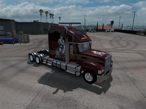 mack chu cxu   ats euro truck simulator  mods