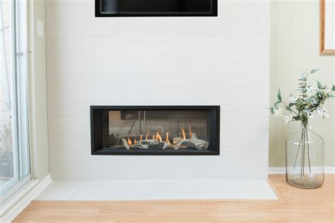 sided wood fireplace two sided wood burning fireplaces canada fireplaces