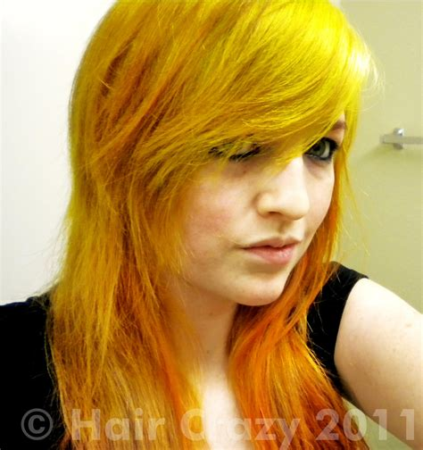 Yellow Hair orange and yellow hair forums haircrazy