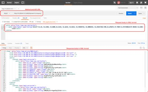 blogger xml format query the businessobjects repository using rest sdk rws