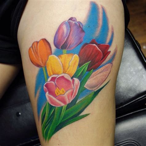 tulip tattoo ideas 25 tulip images pictures and designs