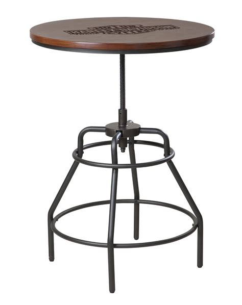 Harley Davidson Table L by Harley Cafe Pub Tables Cooler And Billiard Ls