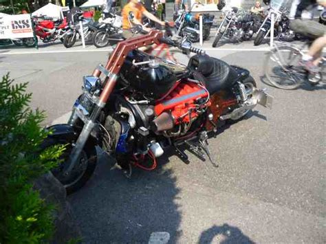 Mannheim Motorrad Bosshoss by V12 Motorrad S 1 Milwaukee V Twin Harley Davidson