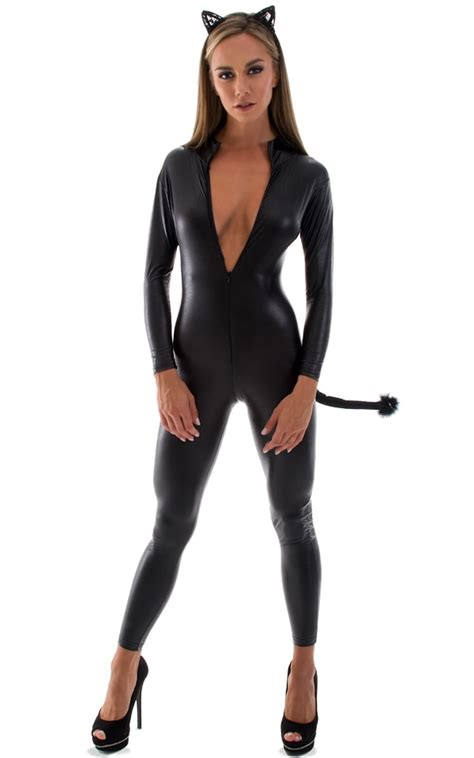 catsuits for women sexy catsuits full body suits fitted jumpsuits for women