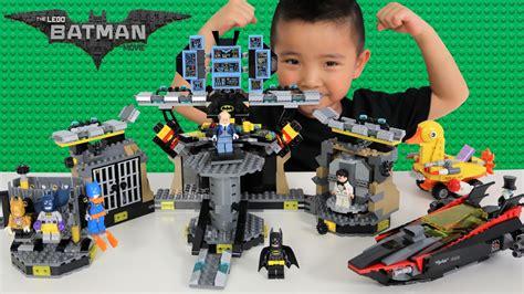 speelgoed lego the batman lego movie batcave break in set unboxing