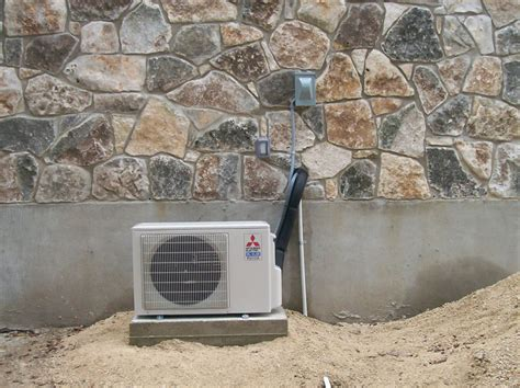 southern comfort air conditioning minisplit installation outside