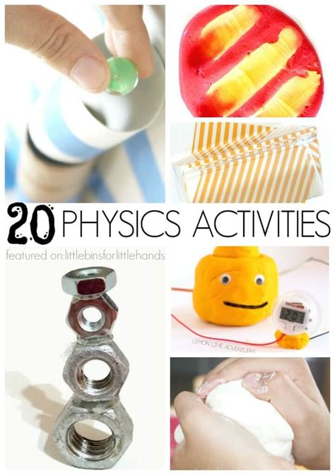 fun science experiments  kids  bins