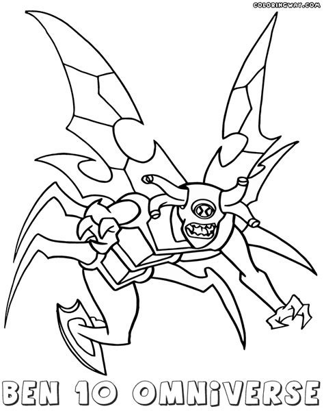 ben 10 omniverse coloring pages coloring pages