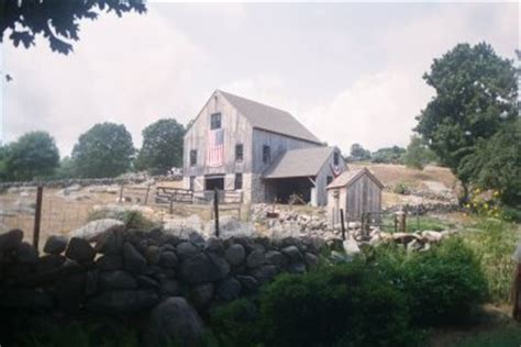 S Barn Stonington Ct Miner Wehpittituck Farm Photograph