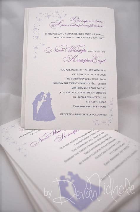 cinderella wedding invitation template cinderella wedding invitations