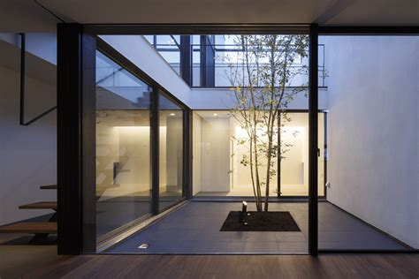 backyard architecture patio house apollo architects associates archdaily