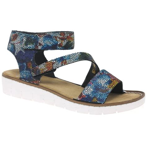 Sandal Wanita Trendy Garsel L 360 rieker calabria womens sandals charles clinkard