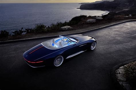 vision mercedes maybach 6 cabriolet is a pebble