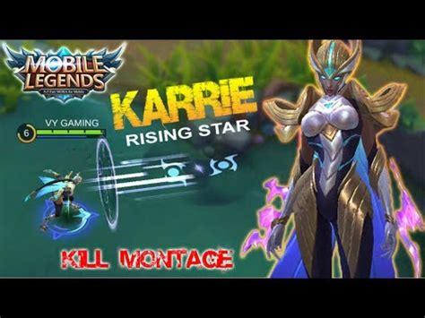 Skin Karrie Rising mobile legends new skin rising karrie kill montage mvp patch 1 1 94