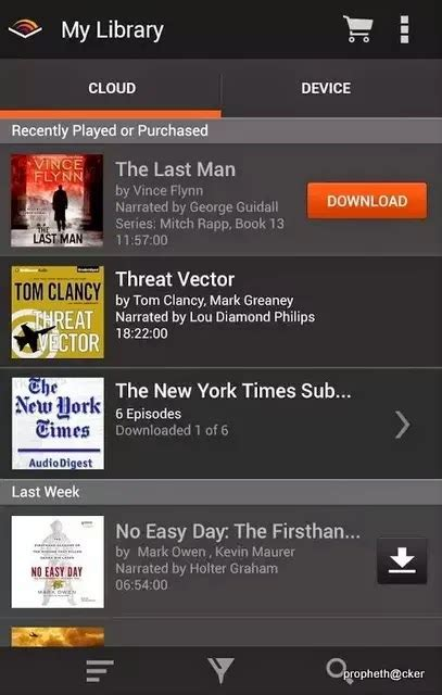 audible mobile store audible app for listen audio ebooks in android