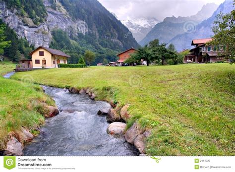 Hill Country House Plans spring alps switzerland stock photos image 2111723