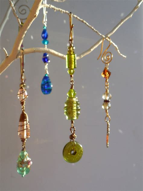 beaded suncatchers vintage glass suncatcher bead hanger bead glass
