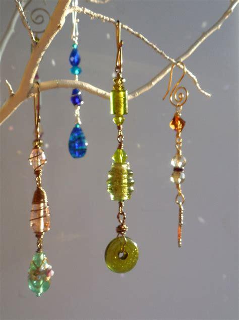 Vintage Glass Suncatcher Bead Hanger Bead Glass