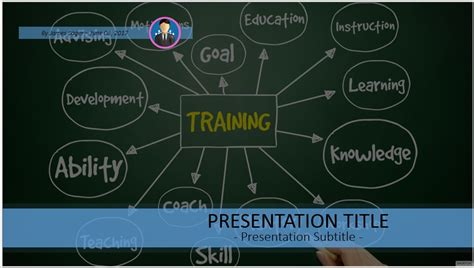 training and development powerpoint template free 4911