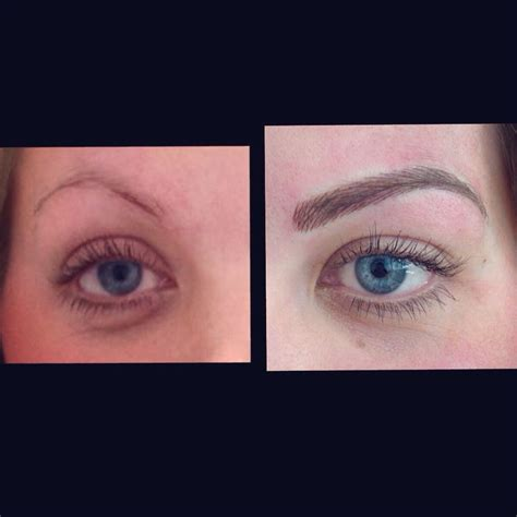non permanent tattoo semi permanent eyebrow kent ciekawe