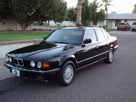 bmw 1990 7 series 1990 bmw 7 series photos informations articles