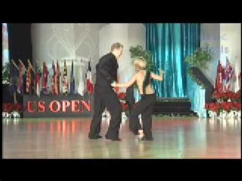 us open swing dance kyle redd sarah vann drake 2008 us open swing dance
