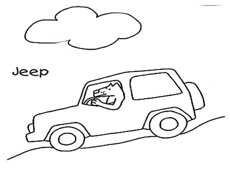 safari jeep coloring page safari jeep coloring pages imgkid com the image