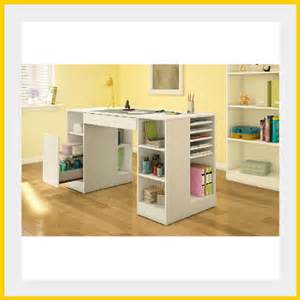 Craft Desk With Storage by Craft Table With Storage Organizer Home Hobby Sewing