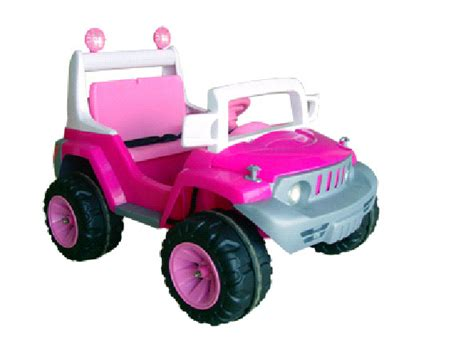 pink toy jeep ride on pink princess girls electric jeep 12v toy from