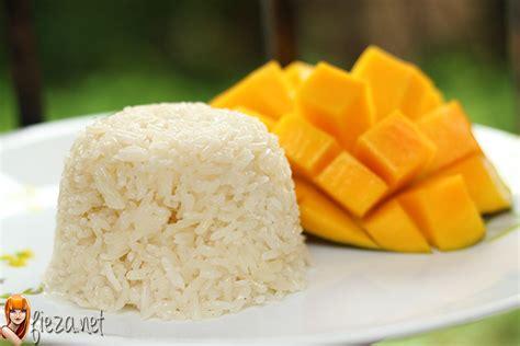 cara membuat manisan mangga harum manis resepi pulut mangga cara memasak pulut mangga fieza net
