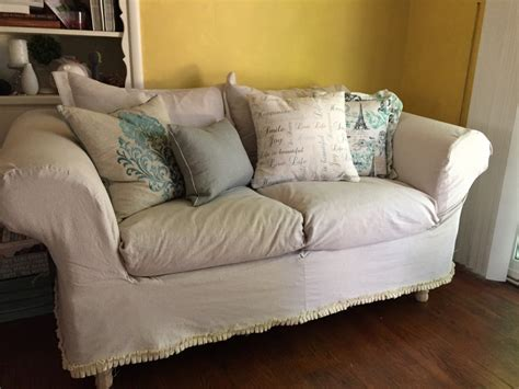 drop cloth couch cover drop cloth slipcovers jlm designs