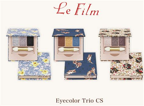 Paul And Joe Eye Color Trio Cp 560 06 paul joe eye color trio for fall 2014 trends