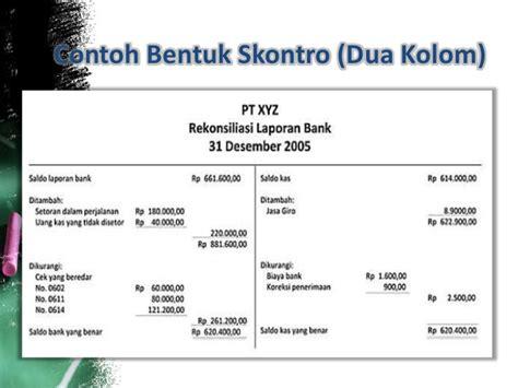 cara membuat jurnal penyesuaian setelah rekonsiliasi bank contoh ayat jurnal penyesuaian rekonsiliasi lintoh
