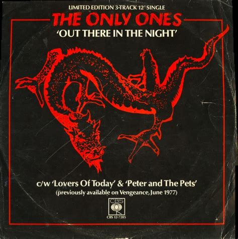 the only ones the only ones out there in the night vinyl at discogs