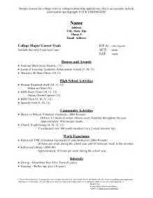 college application resume template college application on resume essay tips and
