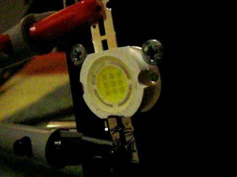 led möbelleuchte 10 watt high power led test 800 ma 12 volt