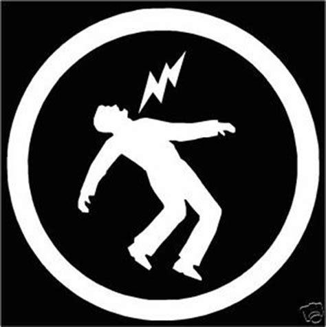 warning green day symbol cut vinyl bumper or window