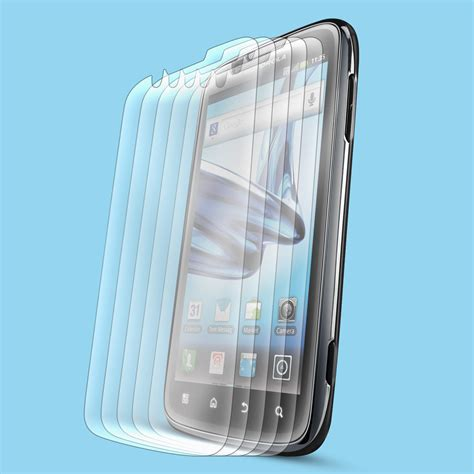 Screen Guard Lcd 11 Inc 1 6x clear lcd screen protector cover for motorola atrix 2 ii mb865 ebay