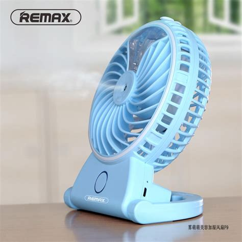 Kipas Angin Embun jual remax kipas angin air embun usb rechargeable mini fan