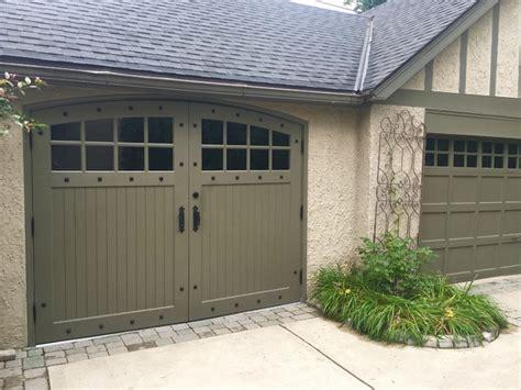 Garage Doors Milwaukee by Custom Tudor Style Garage Doors Traditional Garage