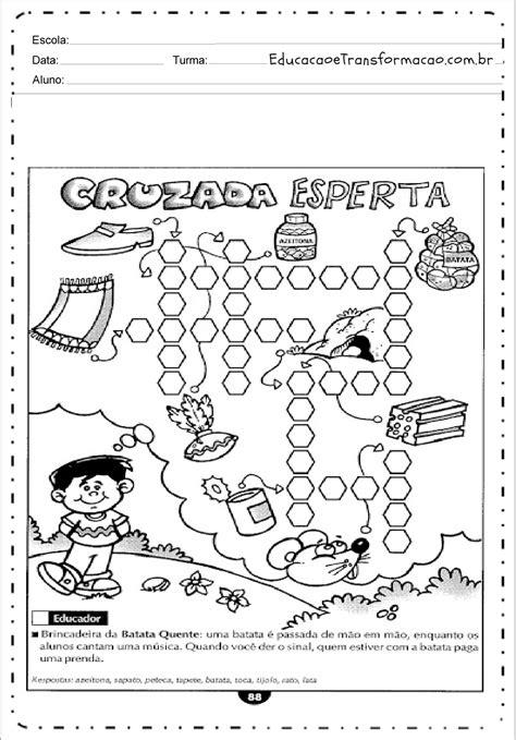 Cruzadinha Esperta - Atividades de Alfabetização