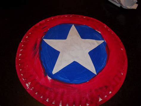How To Make A Paper Shield Easy - captain america shield so easy all you need is a paper