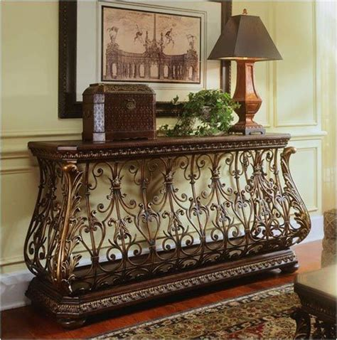 Best 25 Wrought Iron Console Table Ideas On