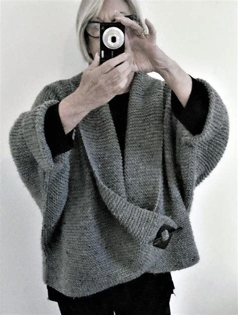 shawl cardigan knitting pattern sweater wrap knitting patterns in the loop knitting